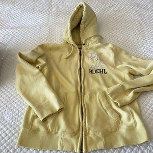Men's Ruehl 925 distressed hoodie ***RARE****